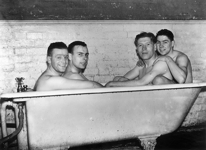 Image result for prisoners showering